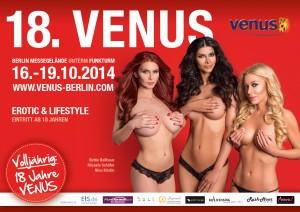 Venus 2014 Plakat D ohne BH